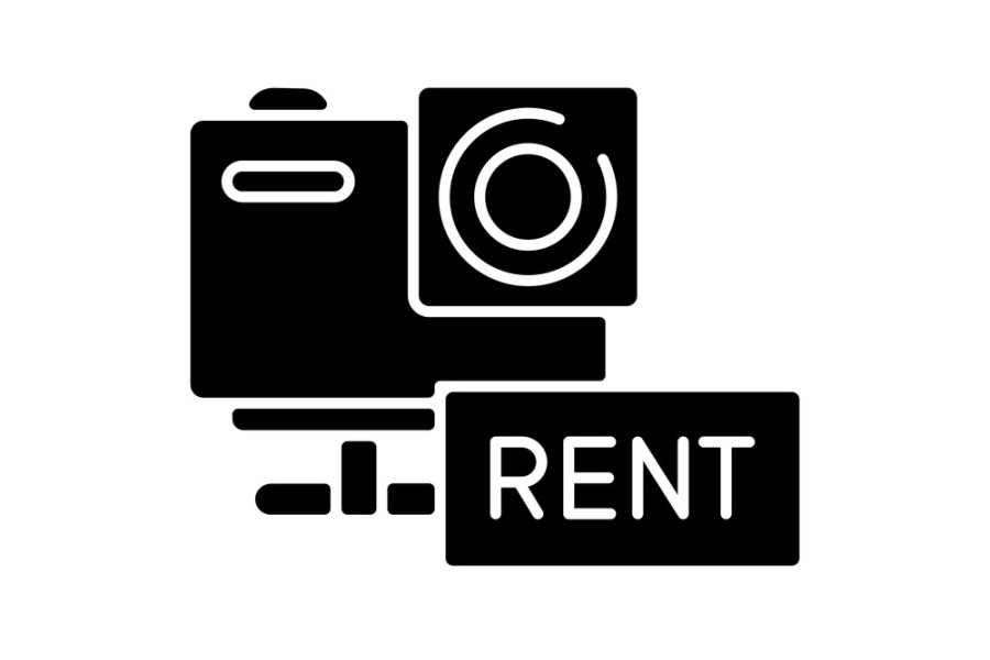 rental video w wypozyczalni sprzetu filmowego